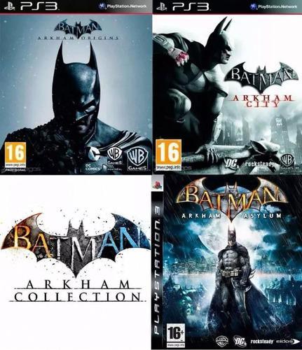Batman Ps3 Arkham Collection | Incluye 3 Juegos | Originales