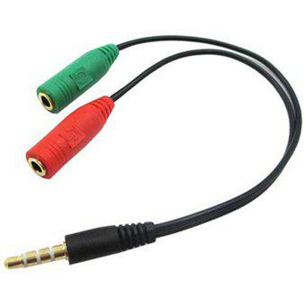 Cable 2 A 1 3.5mm Jack Ps4 Xbox One Gamer Auricular Mic Pc