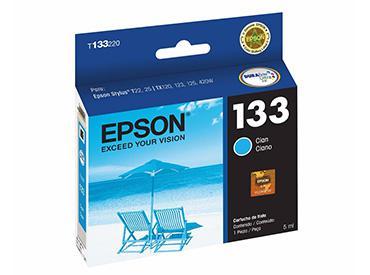Cartucho Cian Epson 133 (T133220) - Computer Shopping