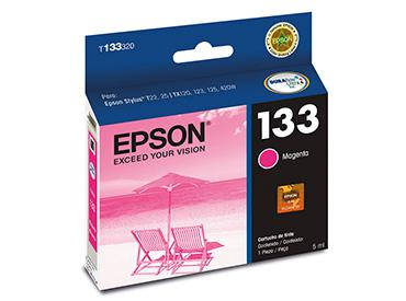 Cartucho Magenta Epson 133 (T133320) - Computer Shopping