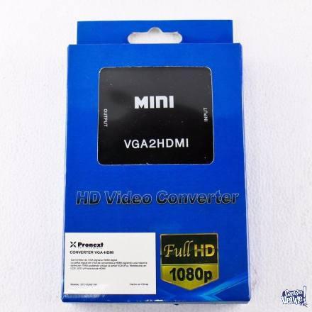 Conversor VGA a HDMI digital 1080p full hd tv lcd pc