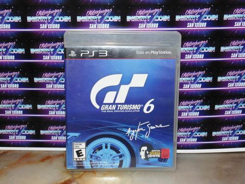Gran Turismo 6 Play Station 3 Ps3 Juego