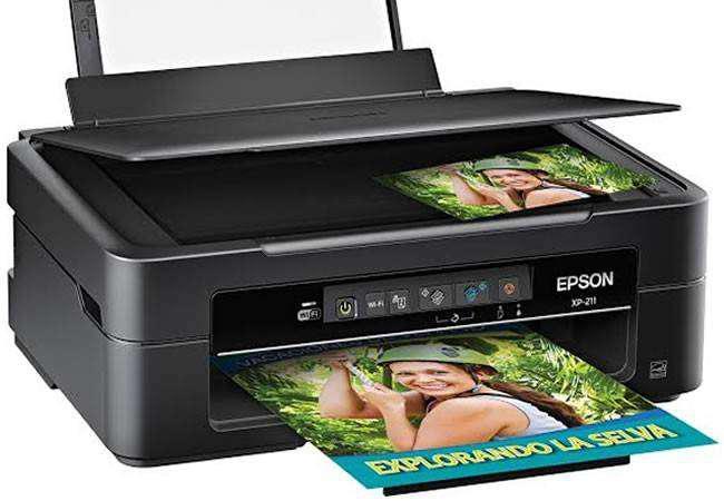 Impresora Epson XP-211 Con Sistema Continuo