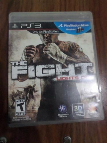 Juego Ps3 The Fight Lights Out - Requiere 2 Move - 3d