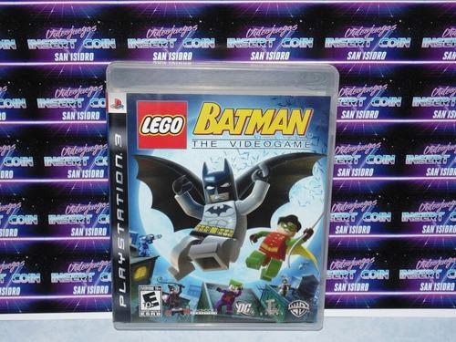 Lego Batman Play Station 3 Ps3 Juego