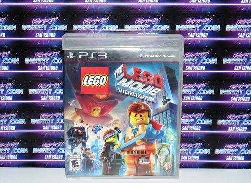 Lego The Lego Movie Videogame Play Station 3 Ps3 Juego