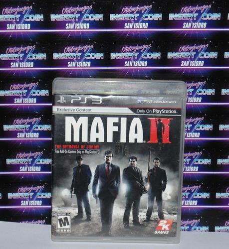 Mafia 2 Play Station 3 Ps3 Juego