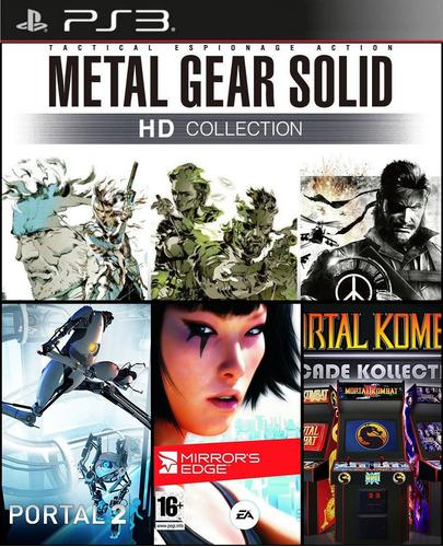 Pack 4 En 1: Metal Gear Ps3 | Digital | Juego Original