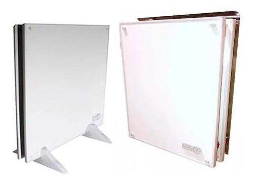 Panel Calefactor Ecosol 900w Duo Con Pies Y Kit Para Amurar