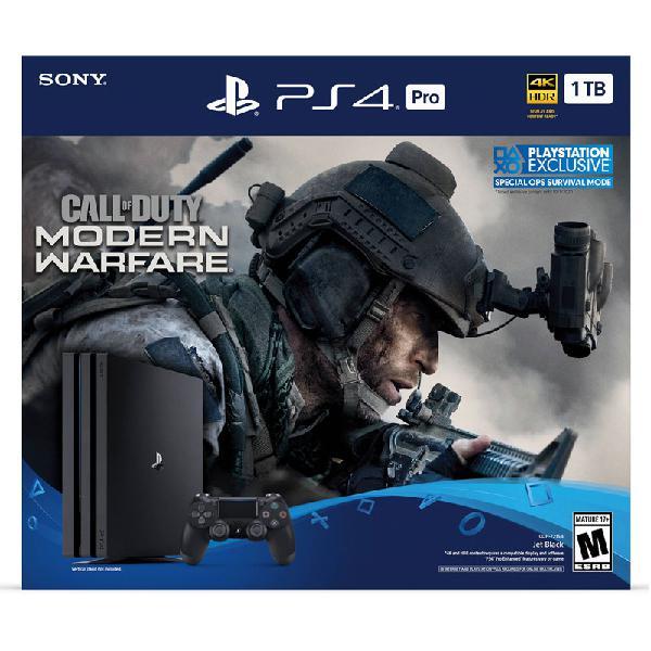 Playstation Ps4 Pro 1 Tb Edicion Call of Duty Modern Warfare