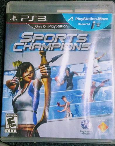 Sports Champions Juego Fisico Para Ps3 En Español