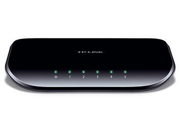 Switch TP-Link de 5 Puertos 10/100/1000Mbps (TL-SG1005D) -