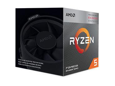 Microprocesador AMD Ryzen™ 5 3400G con Gráficos Radeon™