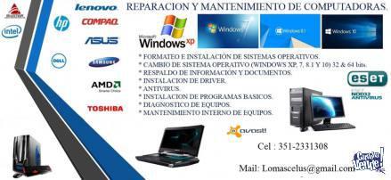 SERVICIO TECNICO DE PC, NOTEBOOK, NETBOOK Y CELULARES