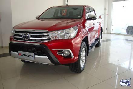 Toyota Hilux 2.8 SRV tdi 4x2 cd 6mt 2016
