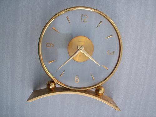 Antiguo Reloj De Mesa Suizo Jaeger-lecoultre Para Reparar