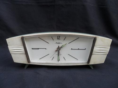 Antiguo Reloj Despertador Rhythm Japon Mesa Vintage 50