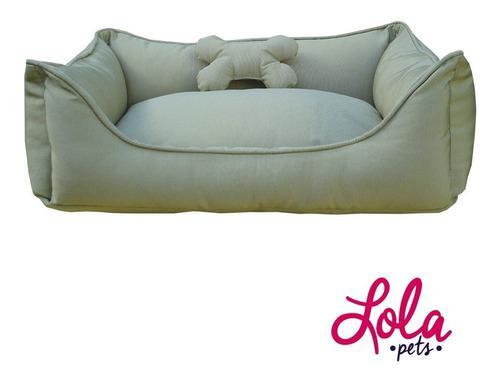 Cama Para Perro - Toy Clásico (beige, 60 X 40)