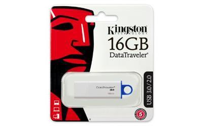 Pendrive Kingston 16GB DT100 G3 USB 3.0