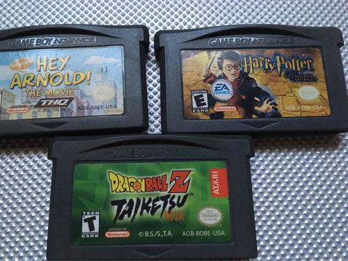 Harry Potter Gameboy Advance - Lote Nintendo Originales
