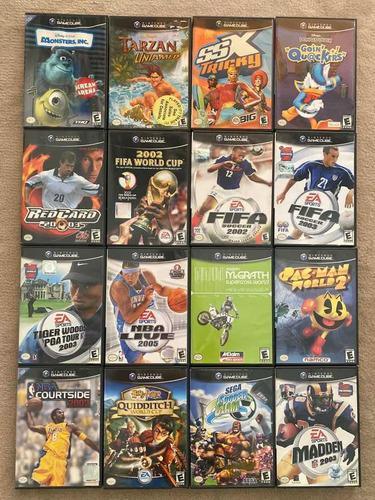 Juegos De Gamecube Importados De Usa