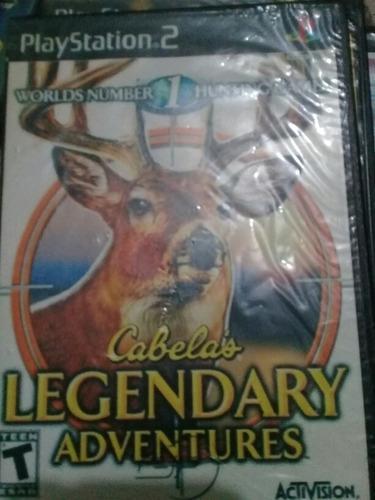Juegos Play 2 Cabela's Legendary Adventures Play 2