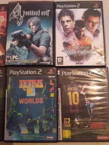 Lote De 10 Video Juegos Playstation 2 (copias).