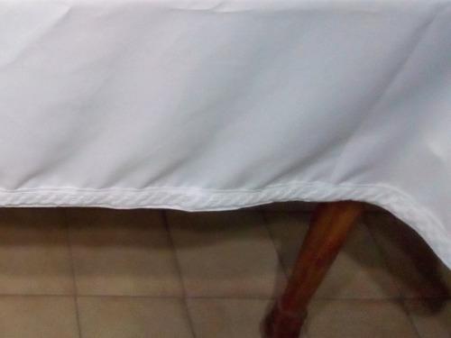Mantel Tropical Mecánico Con Puntillas De Algodón