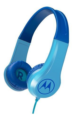 Auricular Motorola ® Original Squad Para Niños Azul Y Rosa