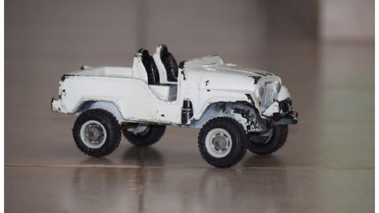 Jeep Duravit Nro 29 Antiguo Juguete Argentino