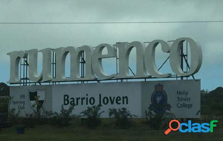 LOTE EN BARRIO RUMENCO JOVEN