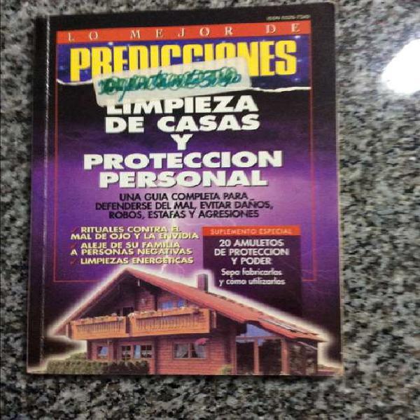 Limpieza de casas y protección personal ; Predicciones lo