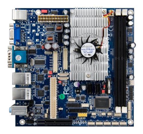 Motherboard Nano® E-series Via Epia-m840 1.6ghz (with Fan)