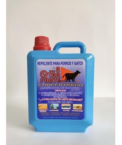 Repelente Para Perros Y Gatos Concentrado 1lt (rinde 5lt)