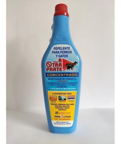 Repelente Para Perros Y Gatos Concentrado 600cm3