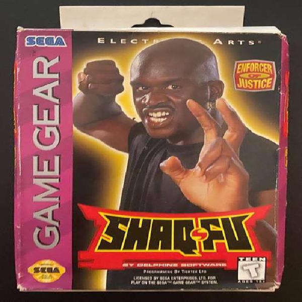 Shaq Fu Juego De Sega Game Gear En Su Caja, Manual, Estuche