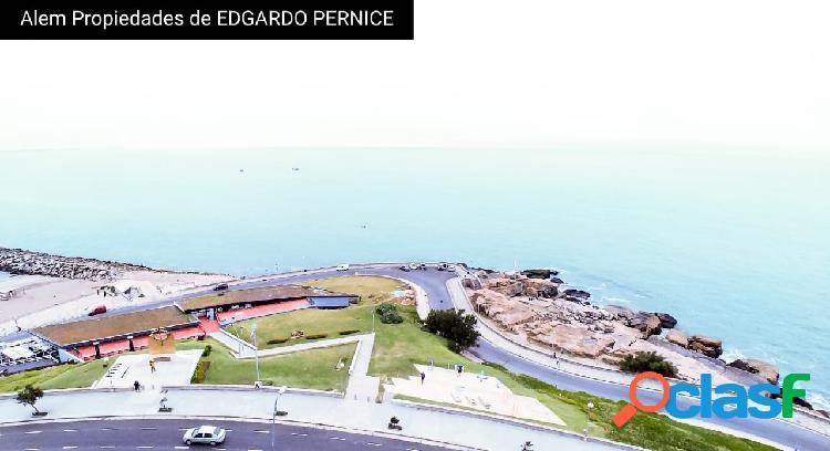 Venta dpto 3 ambientes con vista al mar !!!! Cochera! Zona