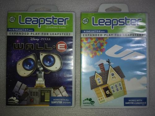 Lote De 2 Juegos Para Consola Leapster Wally - Up