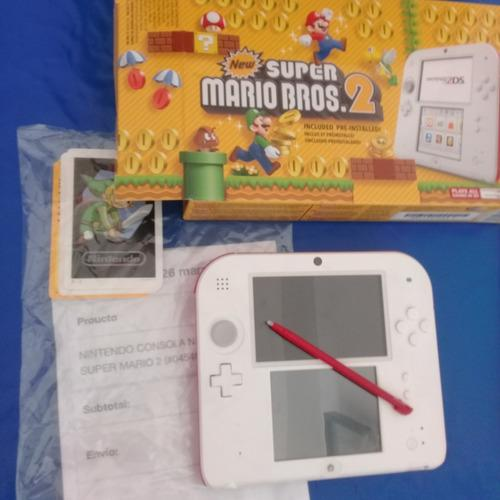 Nintendo 2 Ds New Mario Bros Recién Comprado Sin Uso