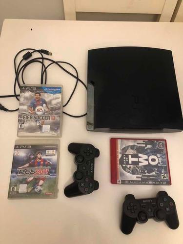 Playstation 3 160gb Como Nueva!