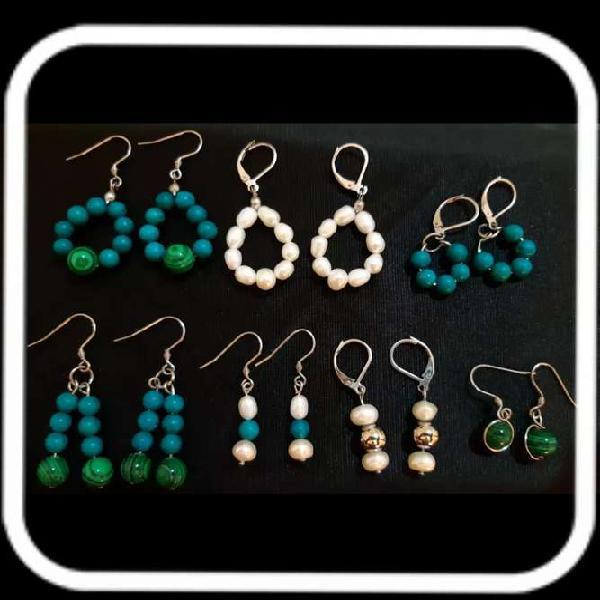 Vendo joyas artesanales de Acero y Plata con Perla Natural y