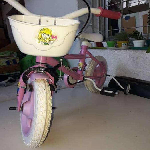 Bicicleta para nena rodado 12.