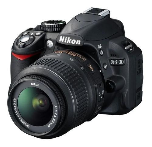 Camara Nikon D3100 Lente 18-55 Muy Poco Uso 9.527 Disparos