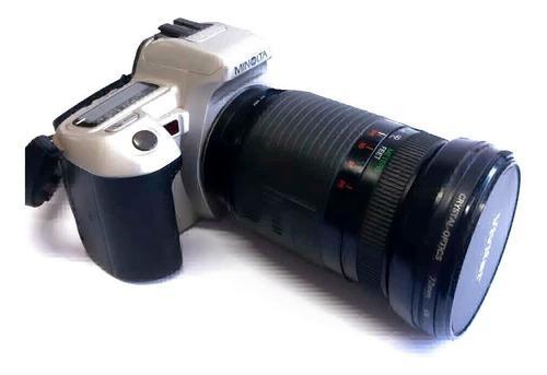 Cámara Fotos Analógica Minolta 35mm Qtsi Maxxum