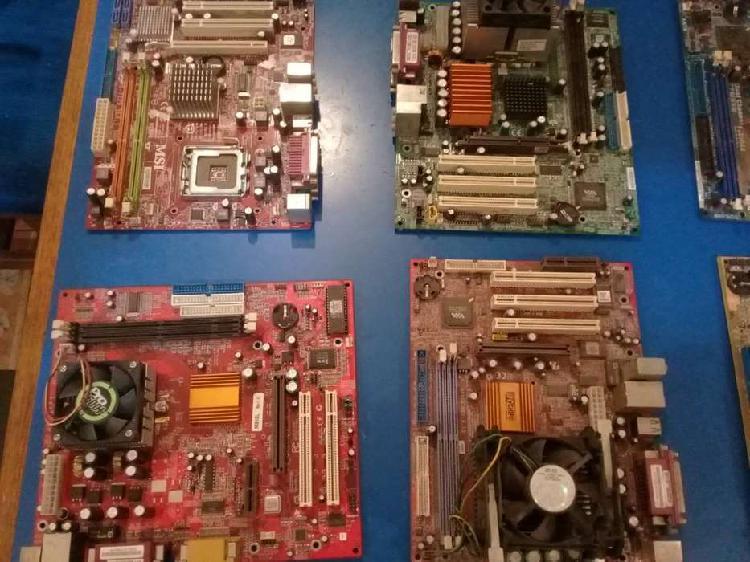 Lote x 10 Motherboards para repuestos