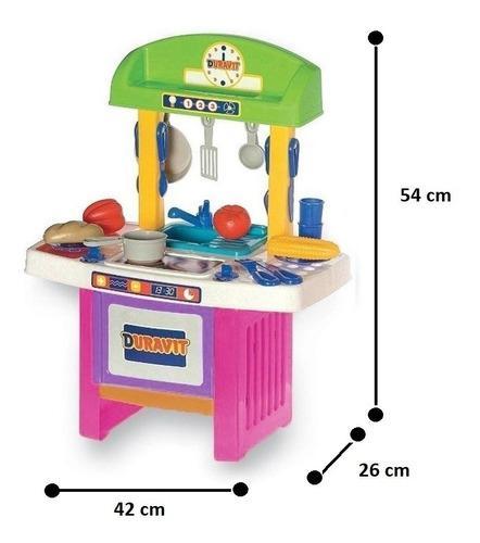 Mi Cocinita Cocina Duravit Chica Con 33 Accesorios Playking