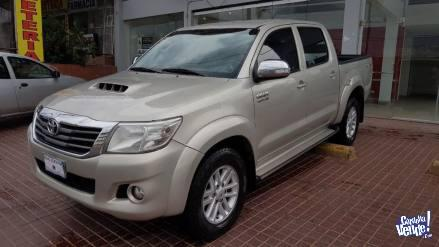 TOYOTA HILUX SRV 3.0 TDI 4X4 2014 CUERO AT/ IMPECABLE! FINAN