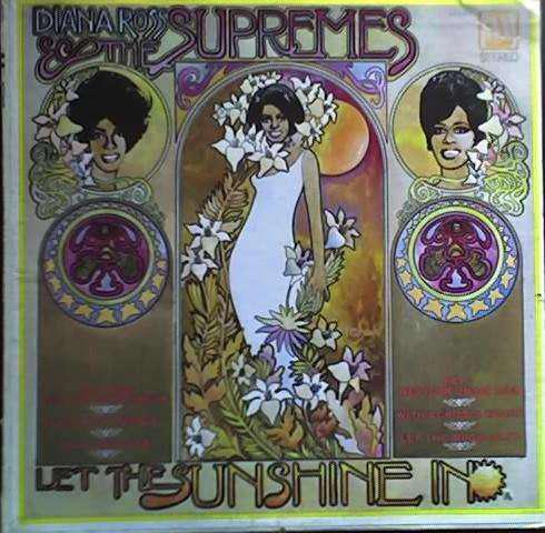 DIANA ROSS THE SUPREMES LET THE SUNSHINE - MS689 STEREO