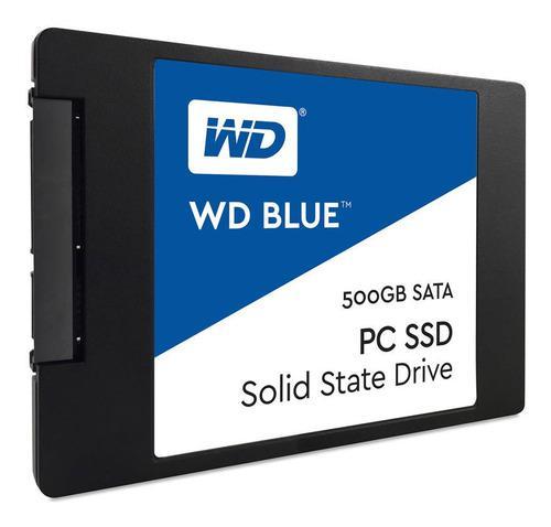 Disco Estado Solido Ssd 2.5 Wd 500gb Blue 6 Gb/s Mallweb 4