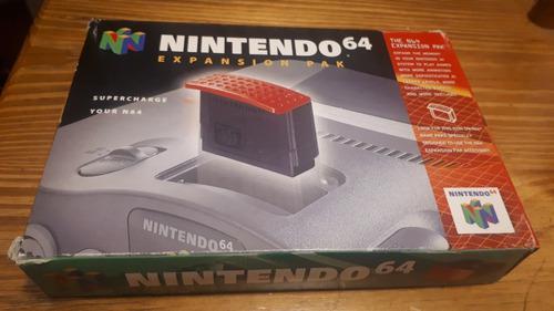 Expansion Pack Nintendo 64 Original En Caja